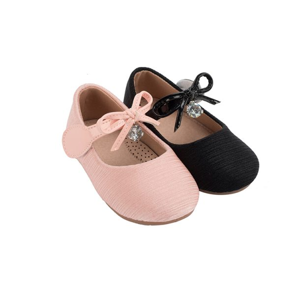 Cute fashion kids pink mary jane shoes girls