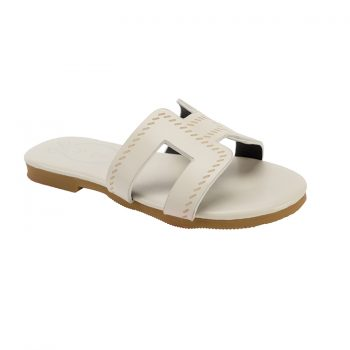 outdoor girls double color slipper for sale