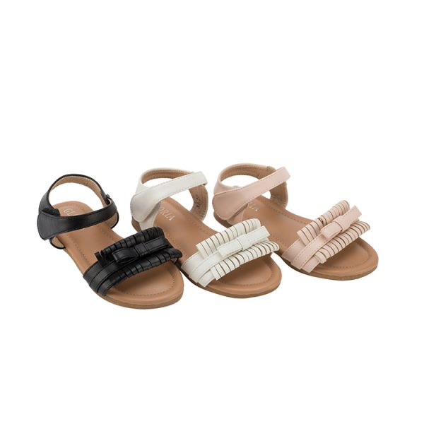 Wholesale custom colorful kid girls sandals