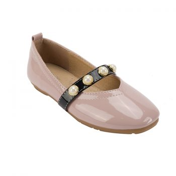 Pu leather toddler girl mary janes shoes