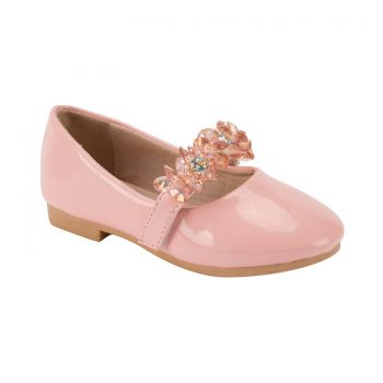 Fancy leather little ladies mary jane dance shoes