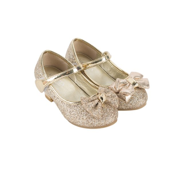 Gray mary jane shoes toddler