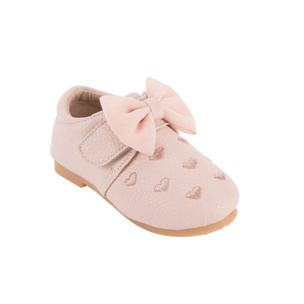 Toddler pink patent leather mary jane shoes