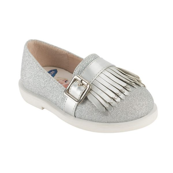 Baby cut girl mary jane shoes