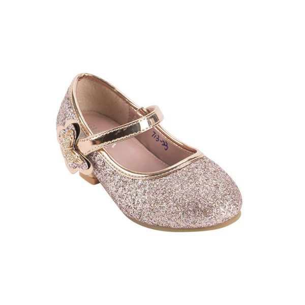 Pink patent leather mary janes toddler