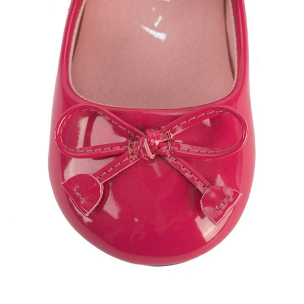 Toddler red and pink mary jane shoes
