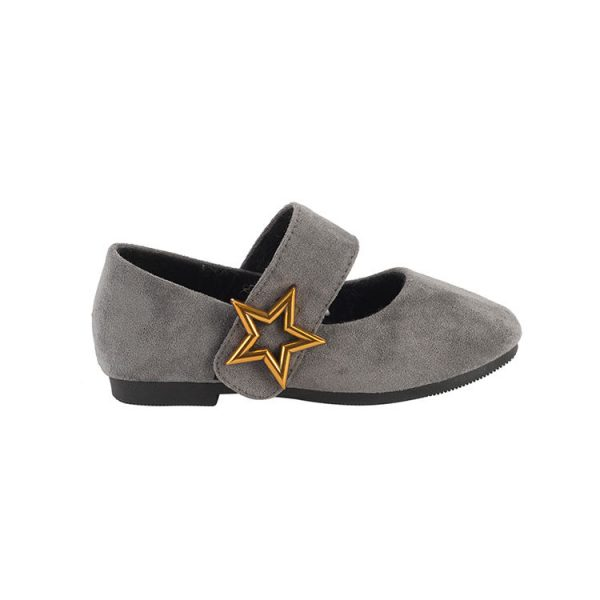 Gold mary janes toddler