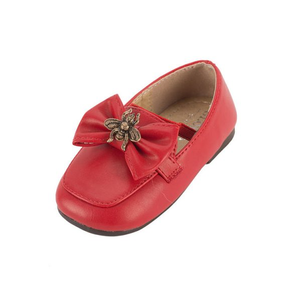 Butterfly knot Marie simple shoes